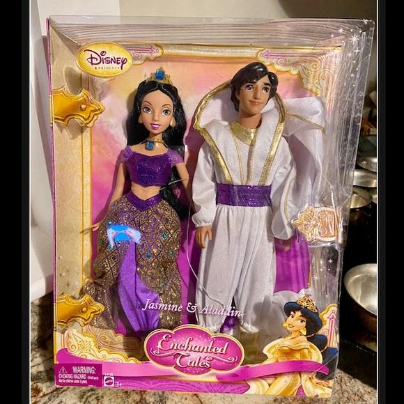 NIB! Disney's Princess Jasmine & Aladdin